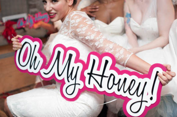 Oh My Party!  Oh My Honey Launches 2013 Bridal Collection of 1950's Inspired Wedding Dresses…