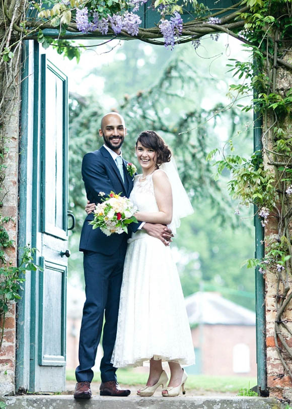A Stephanie Allin Wedding Dress for a Sweet, Quirky and Enchanting Outdoor Wedding…