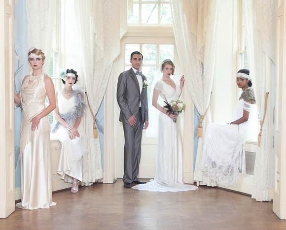 A High Tea Wedding Celebration, 1920s Downton Abbey Style…