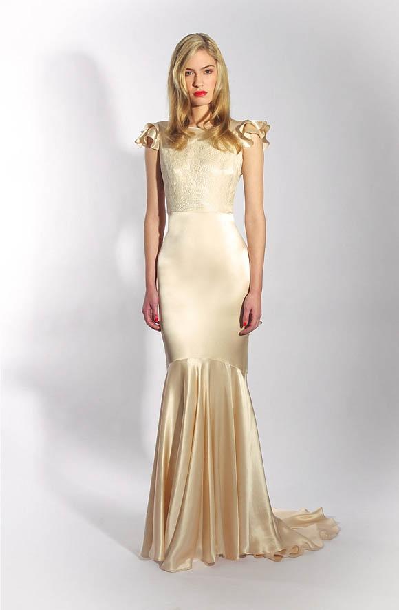 Ralph Lauren Wedding Dress 31 Simple Belle and Bunty New