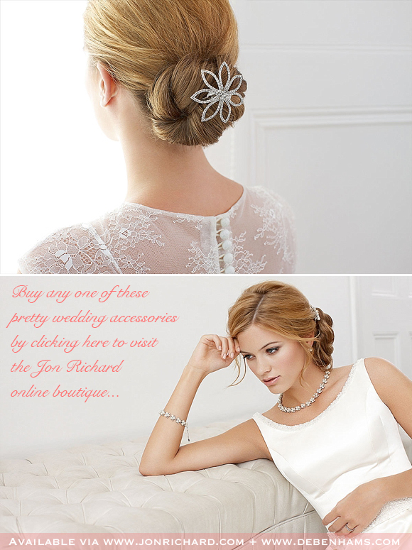 Lunch Time Love ~ The Alan Hannah Devoted Collection, Affordable and Elegant Wedding Accessories for Brides on a Budget