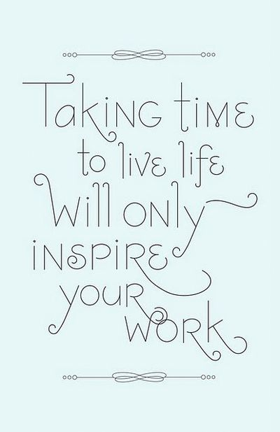 My 'Being Self Employed' Journal #10 ~ Work To Live