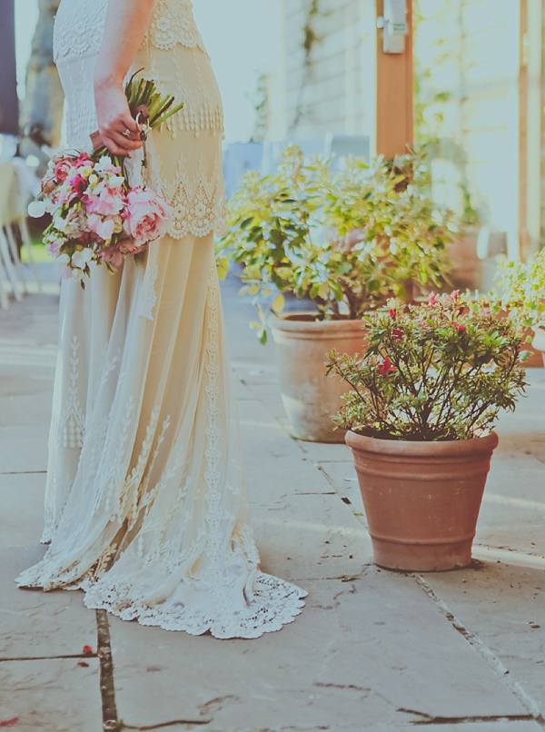 Claire Pettibone's 'Kristene' For A Charming English Country Garden and 1920's Inspired Afternoon