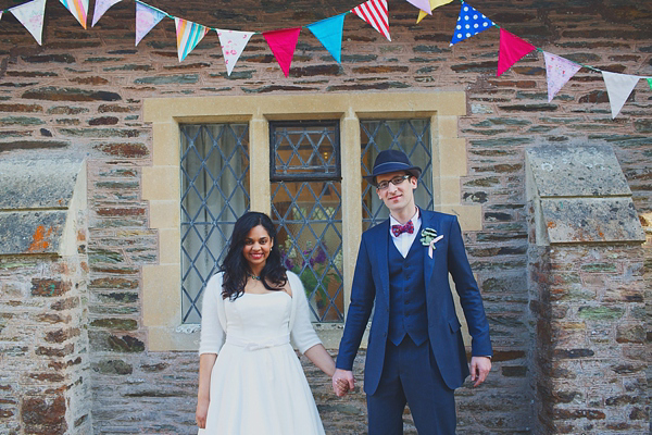 Polka Dots, 1950s Jives, DIY and Sunshine – The Colourful, Fun and Relaxed Devon Wedding Of Amanda and Antony