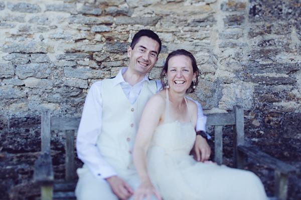 An Organic Cotton And Hemp Dress For An Ethically Sourced, Environmentally Friendly, Vegan Wedding