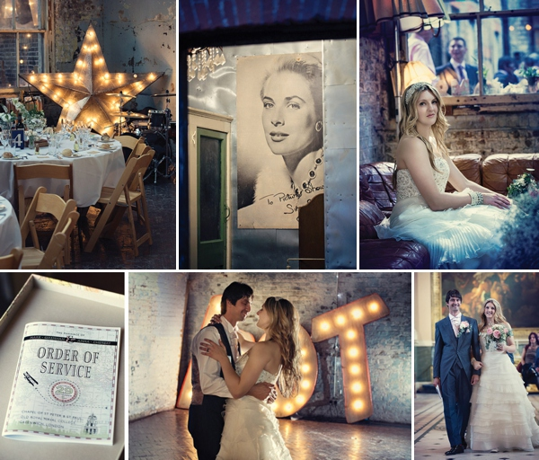 An Artistic and Dreamy Wedding Film ~ Anna and Mark at MC Motors in Dalston, by Roland Mihalszky