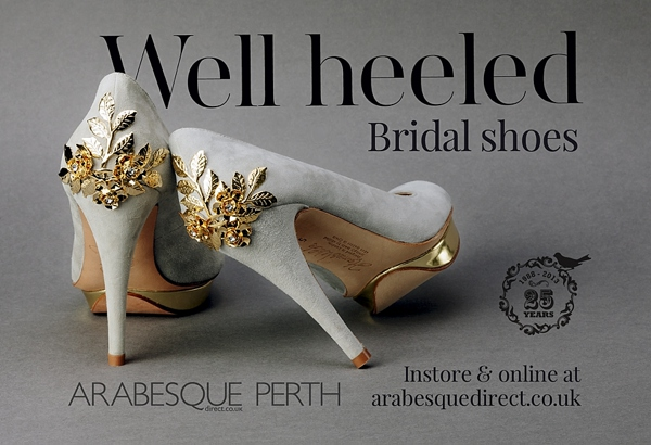 Win a Pair of Beautiful Harriet Wilde Shoes Worth £399, With Arabesque **Competition open to All Readers In the UK, Europe, US and Australia**