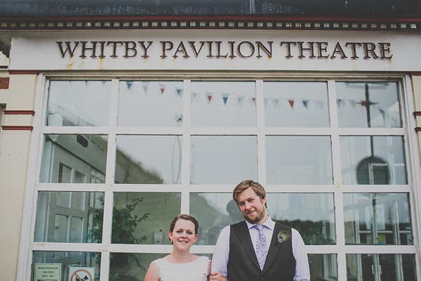 A Whitby Elopement ~ Fish n Chips, Peacock Feathers And A Two Penny Arcade