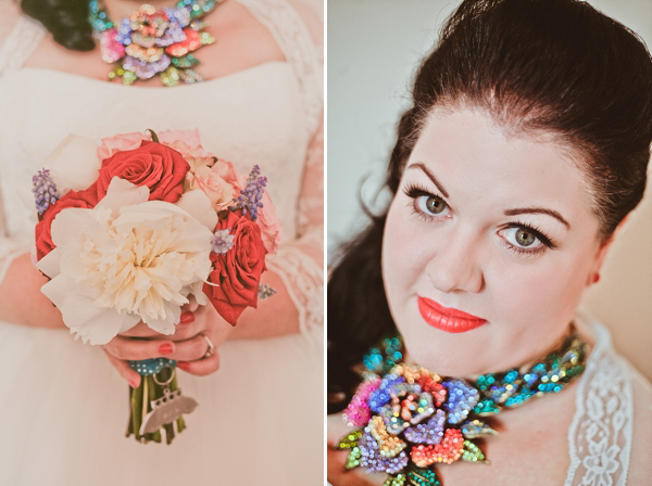 A Kitsch and Quirky, Fifties Retro and Polka Dot Inspired Wedding