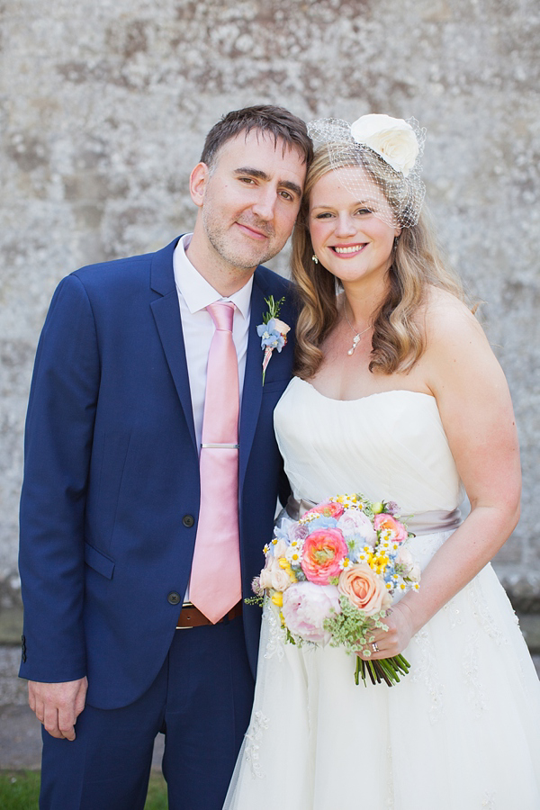 Pastel Petals, Sunshine and The Seaside ~ The Sweet Summertime Wedding of Helen and Dan