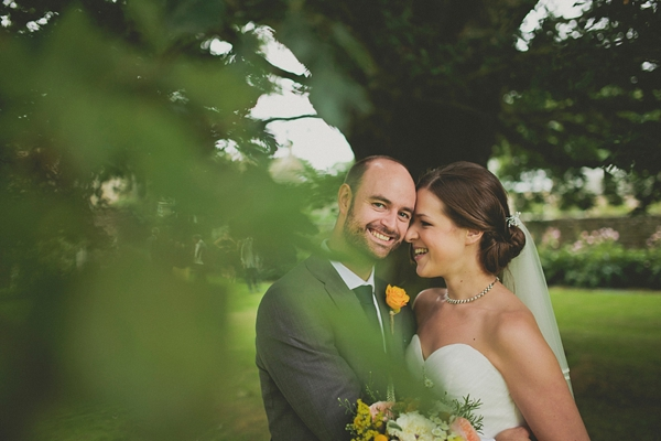 A Delightfully Bright And Yellow Handmade, DIY Village Hall Wedding