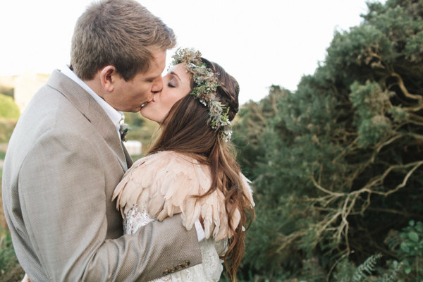 A Beautiful Bohemian Style Elopement in Cornwall