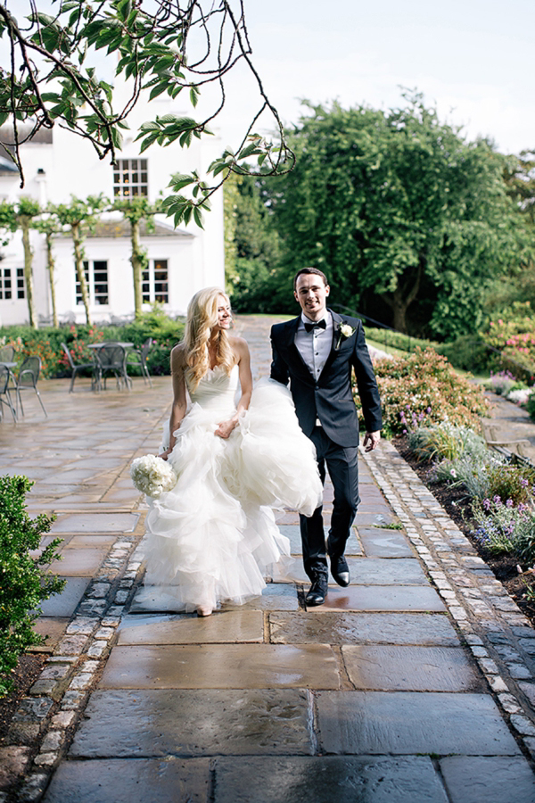 Shades of Pale Pink, Peach and a Pronovias Gown for a Classic and Elegant English Wedding