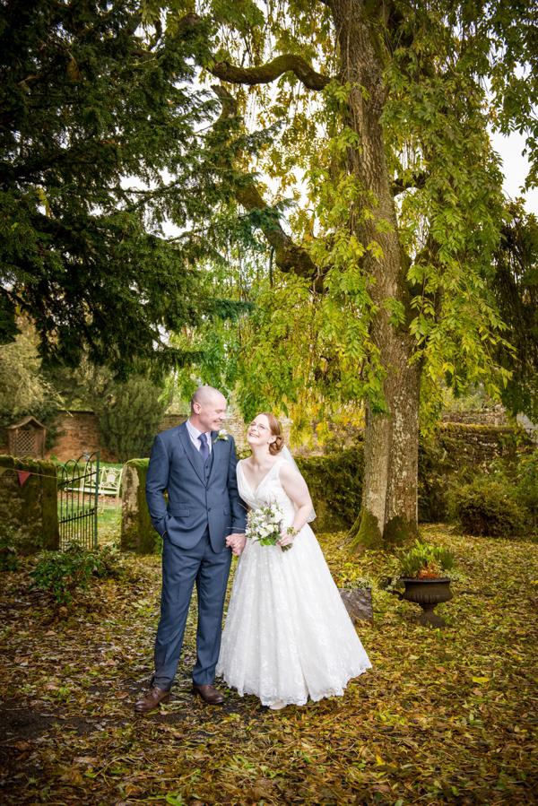 Ian Stuart 50s Elegance For A Charming Woodland Inspired Wedding