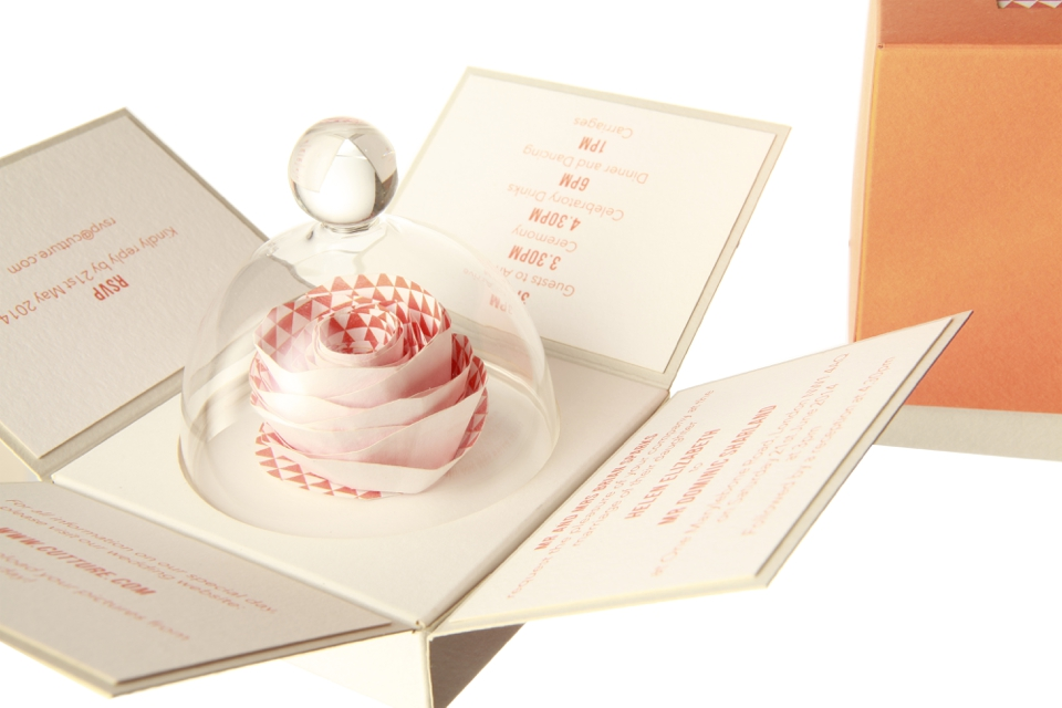 Heaven Scent – Cutture & Chapter 7 Scents Launch Scented Wedding Stationery