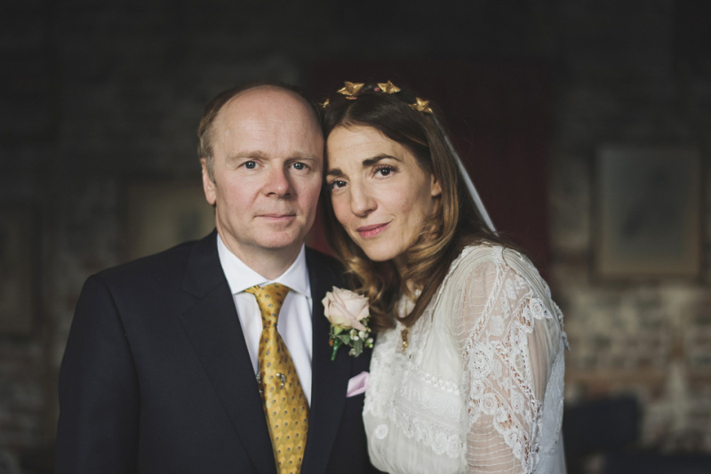 The Edwardian Inspired Wedding of Clara Francis and BAFTA Winner Jason Watkins at Wiltons Music Hall