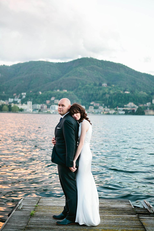 An Elegant Lake Como Wedding Shot On Film