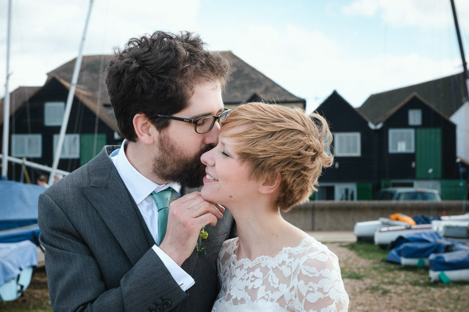 Candy Anthony 50's Twirls For A Fun and Quirky Beach Hut Wedding in Whitstable