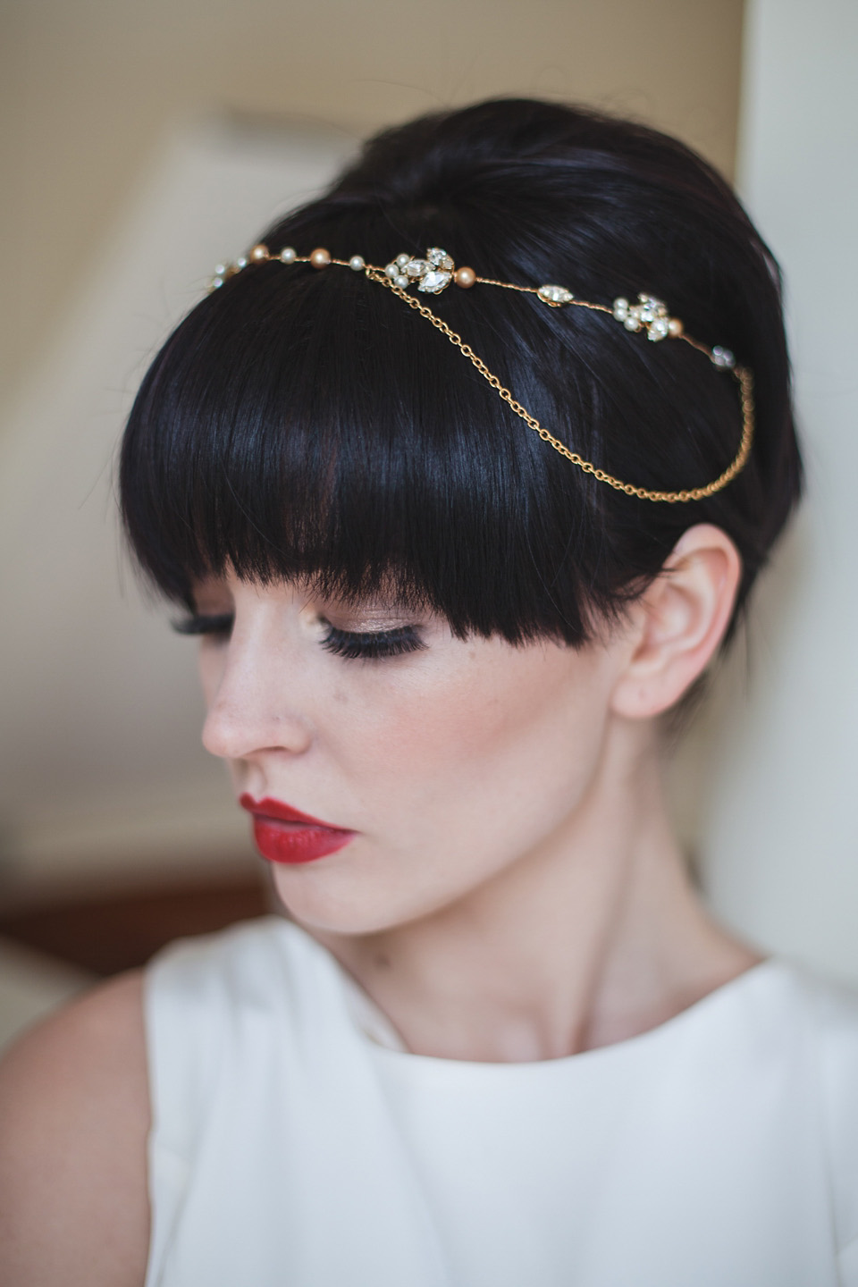 Art Nouveau Bride: Delicate Gold and Intricately Embellished Wedding Accessories