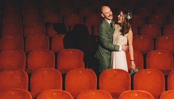 A Cinematic and 1970s Inspired Wedding