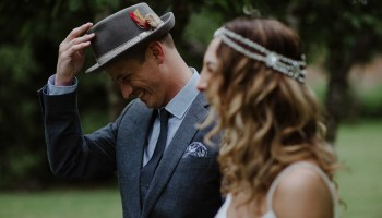 A Relaxed, Outdoor, Humanist ceremony for a Handmade Summer Wedding