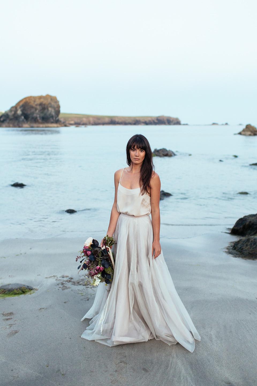 coast beach wedding dress