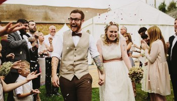 The Story of a Girl and a Boy and Their Handmade, Rustic Style Farm Wedding