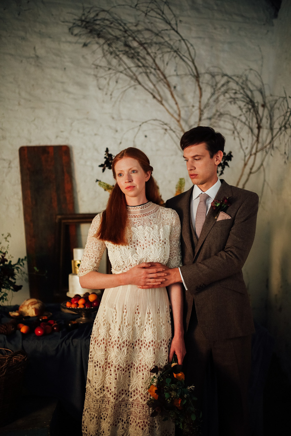 A Sublime Autumn Style and 'Dutch Masters Still Life' Inspired Bridal Shoot (Get Inspired Styled Shoots Supplier Spotlight )