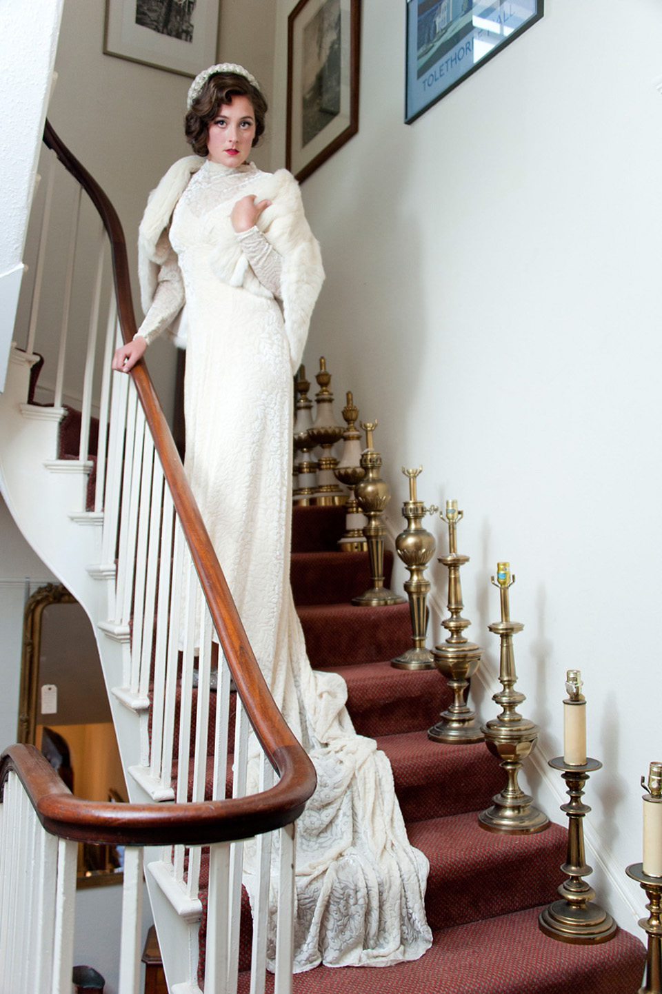 A Celebration of Vintage Bridal Fashion with Abigail's Vintage