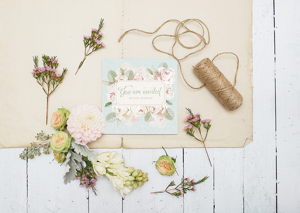 Lucy Ledger Introduces new Pastel Pretty and Rustic Inspired Wedding Stationery