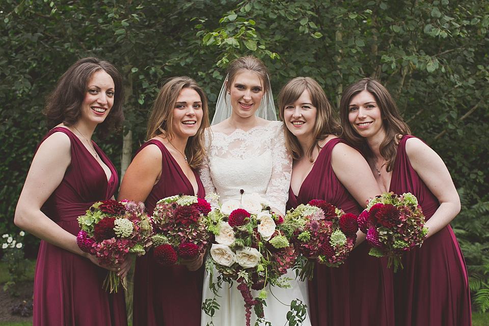 An Enchanted Elegance and Autumn Feast Inspired Wedding in 'Marsala', Pantone Colour of the Year