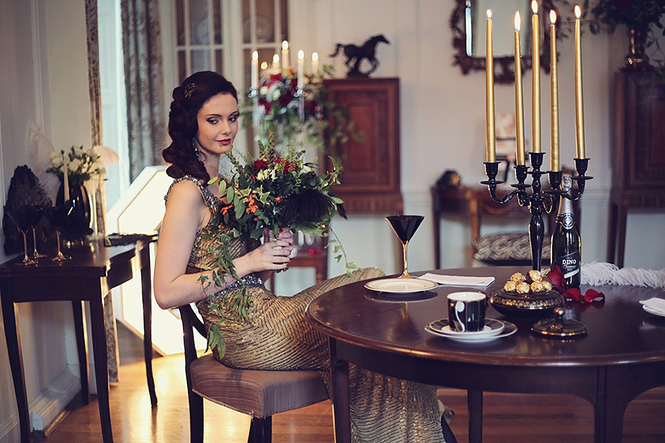 Have Yourself a Vintage Little Christmas... (Bridal Fashion Fashion & Beauty Styled Shoots Supplier Spotlight )