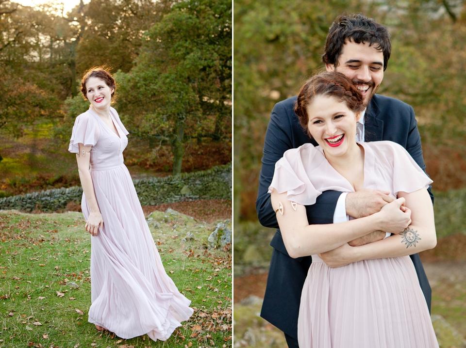 An Elegant ASOS Dress for a No-Frills Style, £450 Secret Wedding