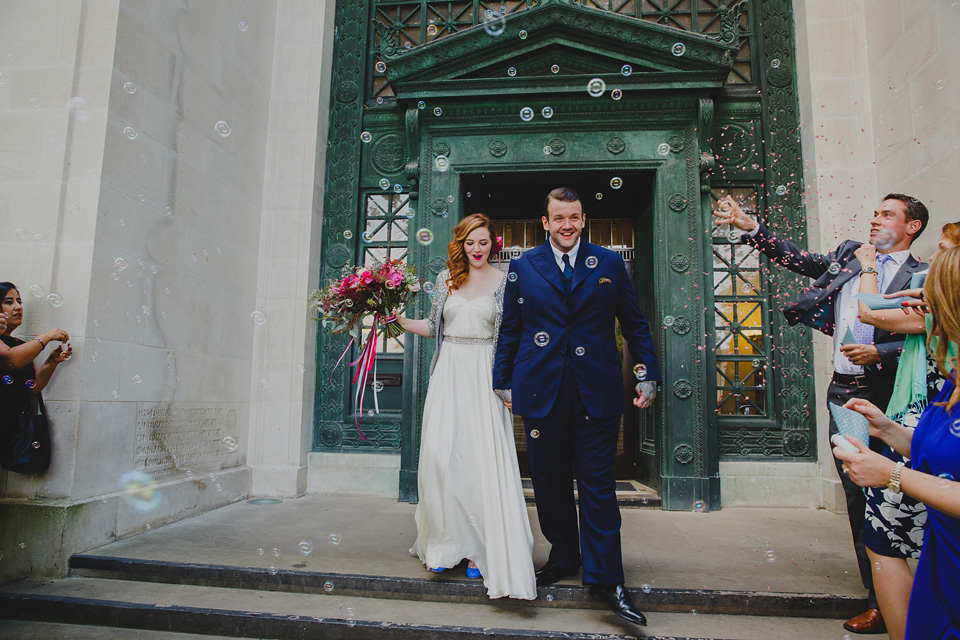 Aurea by Jenny Packham for a Bright, Colourful and Floral Inspired Wedding in Wales (Weddings )