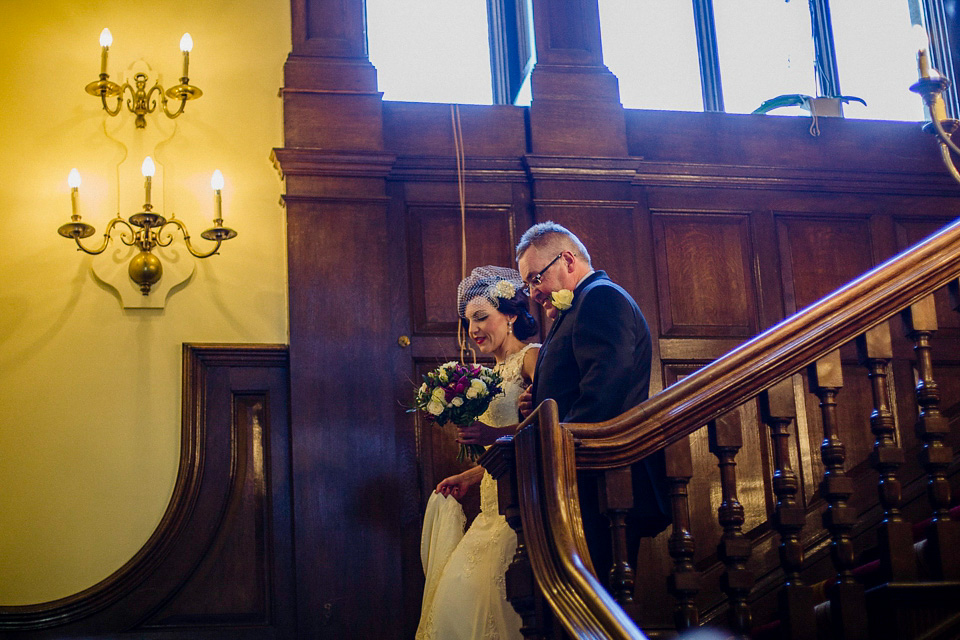 A 1940's Inspired Elegant Autumn Wedding in the Cotswolds (Weddings )