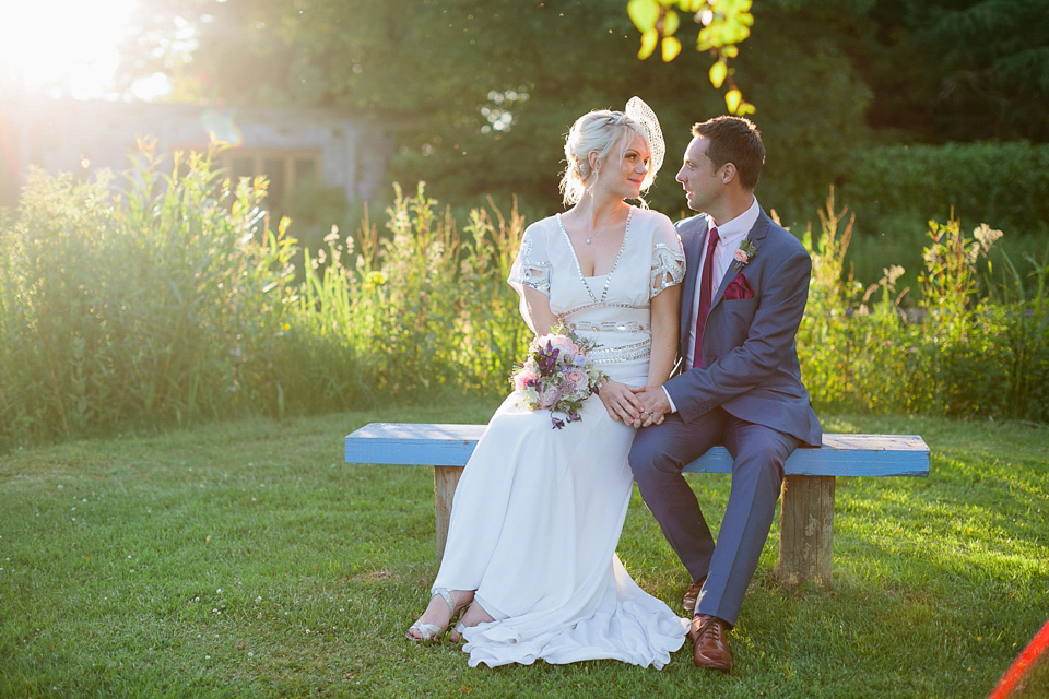 The Jean Dress by Temperley London for a Pretty Pastel, Midsummer Nights Dream Inspired Wedding