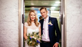 A Manchester City Wedding With a Boho Vibe and Touch of Gatsby Glamour