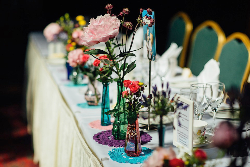 A Colourful, Quirky, 50's Retro and Cinematic Inspired Wedding (Films Weddings )
