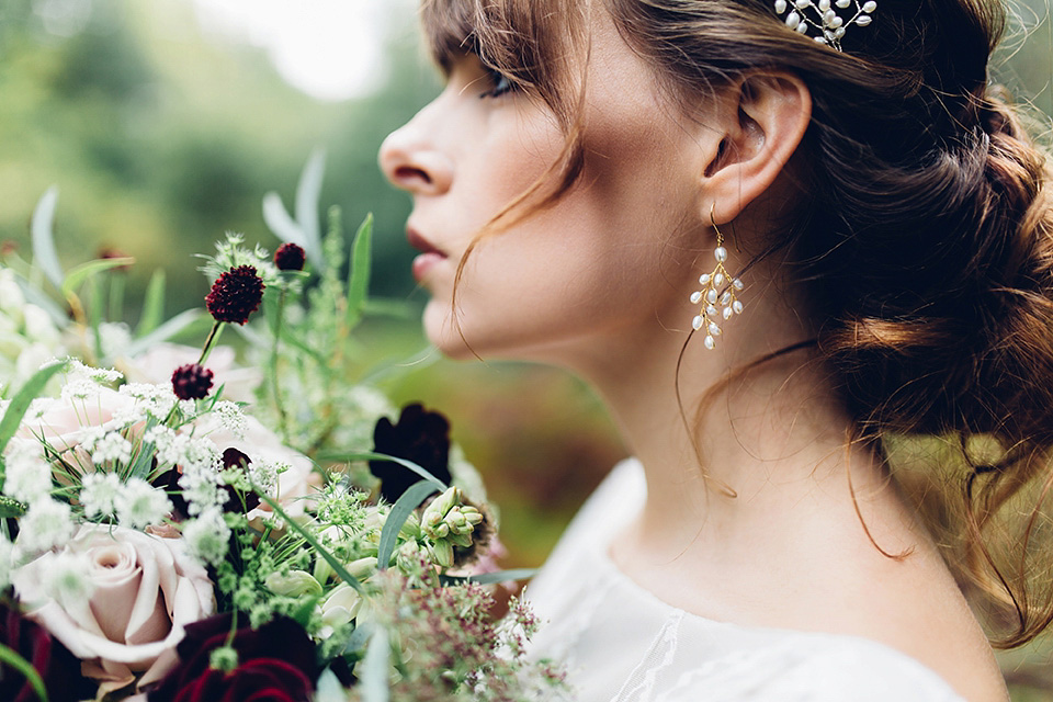 A Beautiful and Whimsical Woodland Elopement (Bridal Fashion Fashion & Beauty Get Inspired Supplier Spotlight )