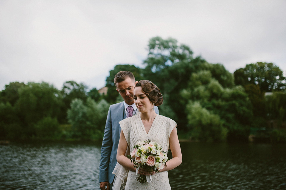 Marcel Waves and a 1930s Vintage Wedding Dress