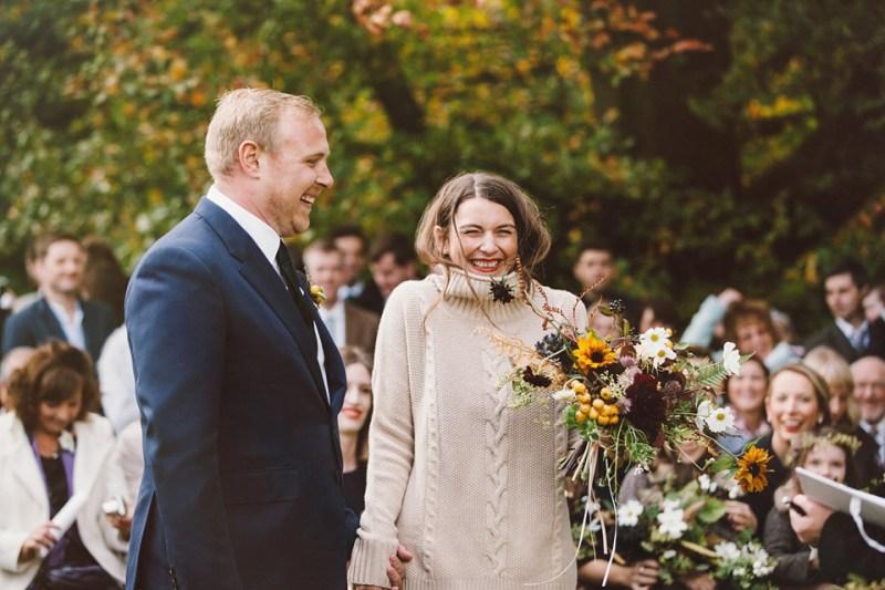 blog richard nicoll wedding dress jumper fashion journalist bride scottish