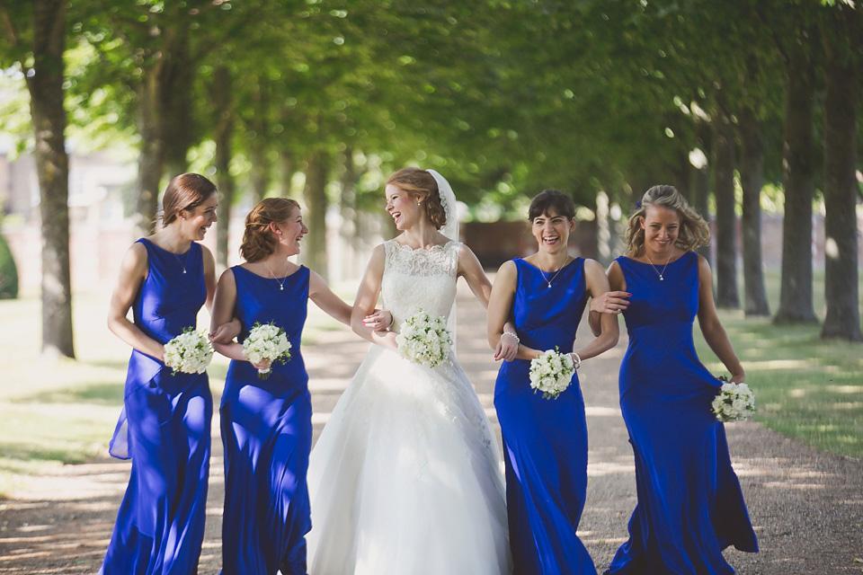 A Regally Elegant Hampton Court Palace wedding