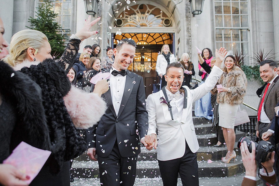 A Glamorous 1940's Old New York Inspired Wedding in London