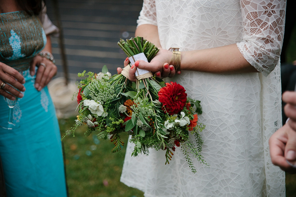 Eliza Jane Howell Glamour for a Boho Bride and her Colourful Barn Wedding (Weddings )