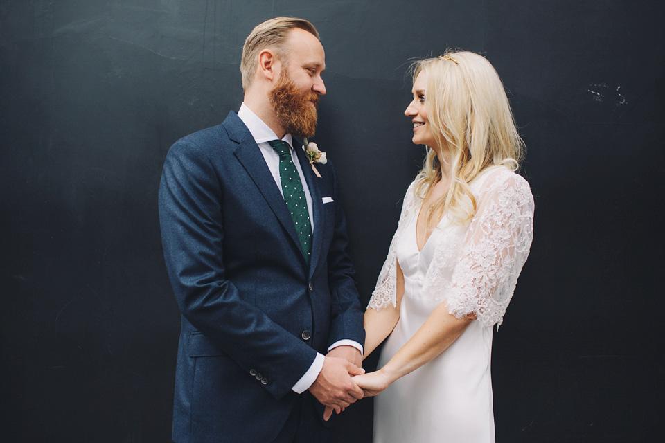 Charlie Brear Elegance for a Laid Back London Wedding