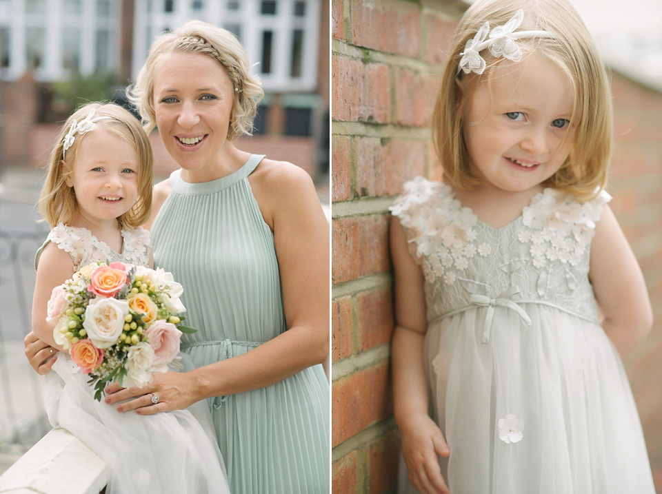 Jenny Packham's 'Esme' For A Mint Green And Pink Summer