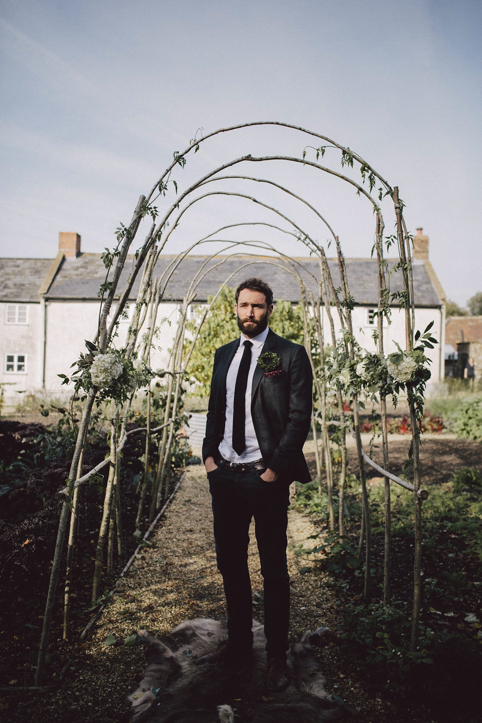 Boho Luxe and English Country Wedding Inspiration at River Cottage, Devon (Get Inspired Styled Shoots )