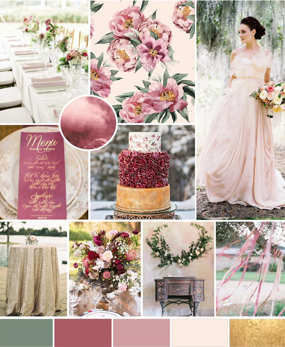 Bridal Inspiration Board #83 ~  Castles in the Sky