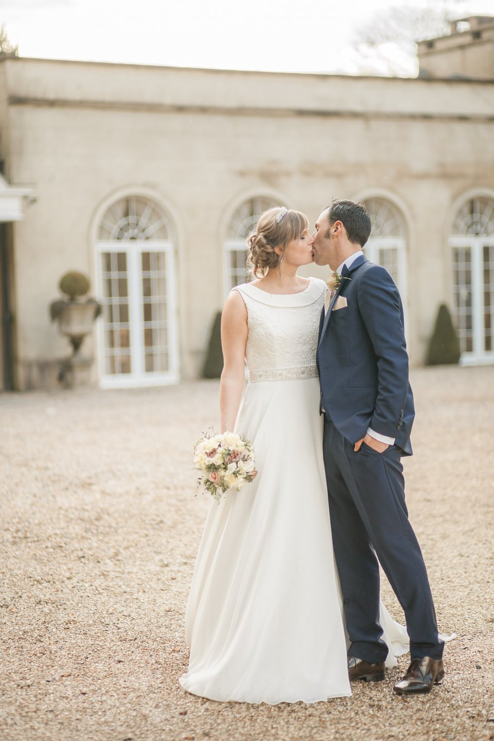 A Blush Pink and Rose Gold, Romantic Travel Inspired Wedding (Weddings )