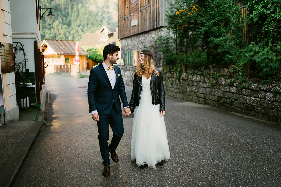 An Elegant 'After The Wedding' Portrait Shoot in a Stunning Austrian Mountain Village